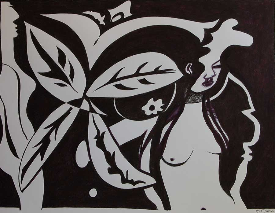 Art Gallery Paintings Black And White of my Black And White Art