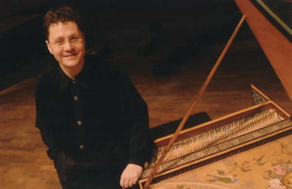 Jory Vinikour at Harpsichord