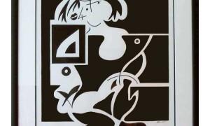 Kneeling-Cubist-Girl-in-Frame-on-white-border-for-web-no-glare